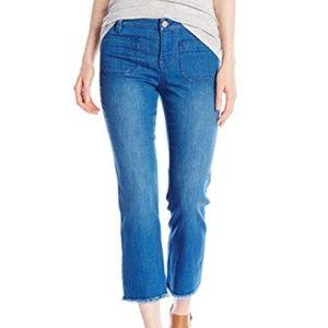 Sanctuary Frayed Jeans capri  BLUE 31